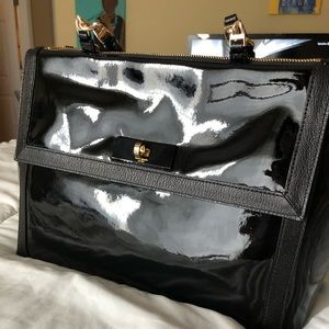 Offer! • Kate Spade Black Patent Leather Purse •